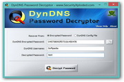 Dyn DNS Password Decryptor 2.0