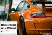 Porsche 911 Windows 7 Theme