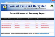 Foxmail Password Decryptor 3.0