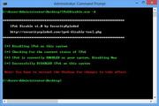 IPv6 Disable