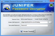 Juniper Password Decryptor