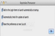 Keystrokes Pronouncer For Mac 6.0
