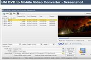 UM DVD to Mobile Video Converter 2.2.1.9