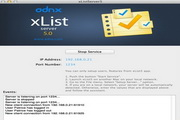 xListServer For Mac 5.0.4