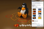 Ubuntu Linux Windows 7 Theme 1.00