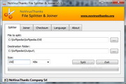 NoVirusThanks File Splitter & Joiner 1.4.0.0