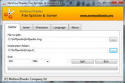 Portable NoVirusThanks File Splitter & Joiner 1.4.0.0