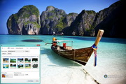 Phi Phi Islands Thailand Windows 7 Theme 1.00