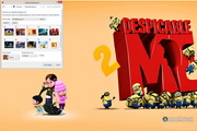 Despicable Me 2 Windows 7 Theme