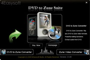 4Easysoft DVD to Zune Suite
