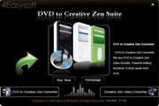 4Easysoft DVD to Creative Zen Suite 3.2.20