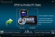 4Easysoft DVD to Pocket PC Suite 3.2.20