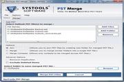 SysTools PST Merge