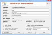 Adept PDF Info Changer 2.00