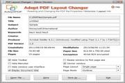 Adept PDF Layout Changer 2.00