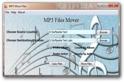 MP3 Move Files 1.2