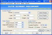 Cute Screen Recorder 3.207