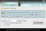 E-Zsoft iPhone Ringtone Maker 3.0.39