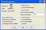 Control Content Saver 1.3