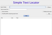 Simple Text Locator For Mac 1.0.1.3.0