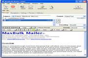 MaxBulk Mailer 8.5.2