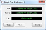 Atom Time Synchronizer