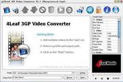 4Leaf 3GP Video Converter
