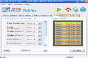 SoftFuse Nice Tables