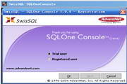 AdventNet SwisSQL - SQLOne Console
