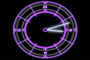 Luminescent Clock Screensaver