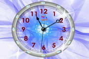 Crystal Clock ScreenSaver