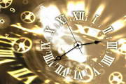 Gold Clock ScreenSaver