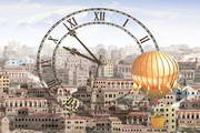 Town Clock ScreenSaver