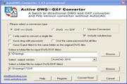 Active DWG DXF Converter