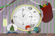 Xmas Clock ScreenSaver