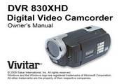 Vivitar威达DVR 830XHD数码摄像机说明书
