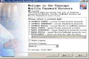 Mozilla Password Recovery 5.7.0.487
