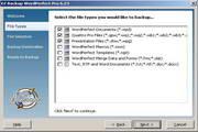 EZ Backup WordPerfect Pro 6.42