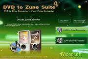 4Videosoft DVD to Zune Suite