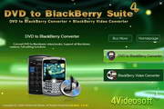 4Videosoft DVD to BlackBerry Suite 5.0.16