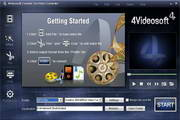 4Videosoft Creative Zen Video Converter 5.0.8