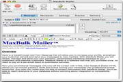 MaxBulk Mailer For Mac 8.5.1