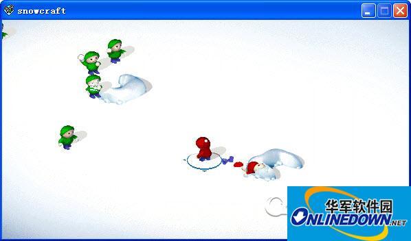 snowcraft(单机打雪仗)