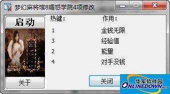 梦幻麻将馆8媚惑学院4项修改器