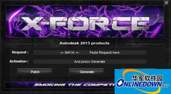 autodesk maya 2013注册机
