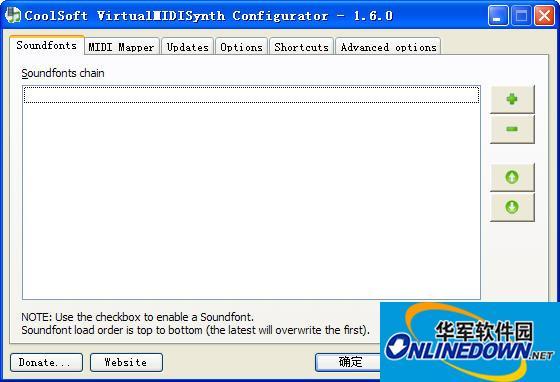 虚拟midi合成器(VirtualMIDISynth)