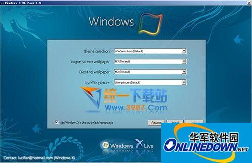 win7仿win8主题(Windows 8 UX Pack)