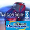 Wallpaper Engine 3D数字时钟壁纸