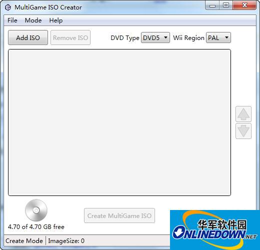 ISO合并工具(MultiGame ISO Creator)