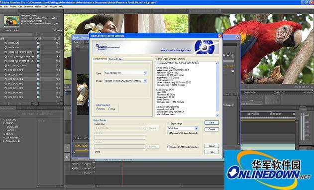 PR高清插件(Mainconcept Mpeg Pro Hdv)